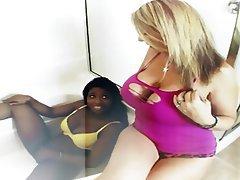 Big Boobs, Big Butts, Interracial, Lesbian