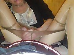 POV, High Heels, Wife, Pantyhose