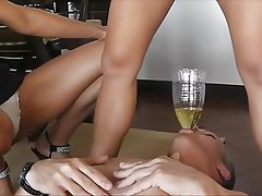BDSM, Femdom, Pissing
