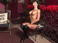 Big Tits, Boobs, Brunette, Masturbation