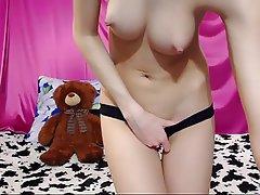 Brunette, Webcam, Babe, Nipples