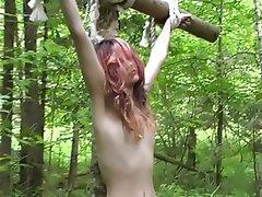 BDSM, Lesbian, Outdoor